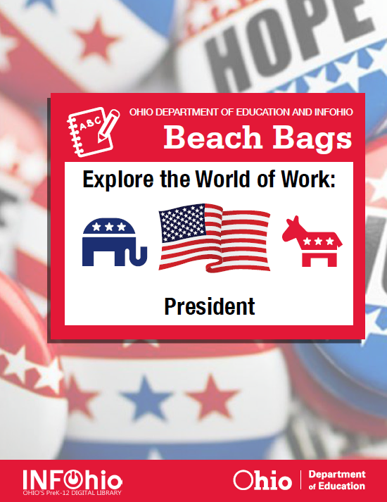 Beach Bag (K-3): Explore the World of Work: President