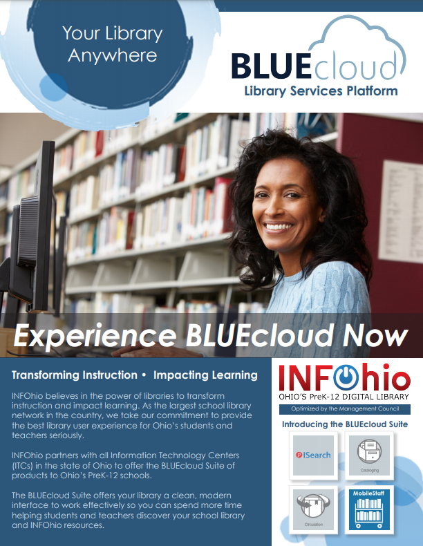 Experience BLUEcloud Library Services Platform