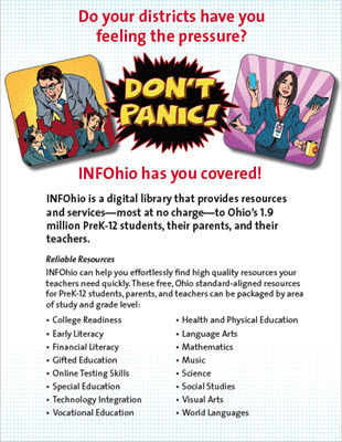 Don't Panic! INFOhio has you covered!