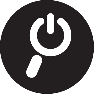 ISearch Icon - Black