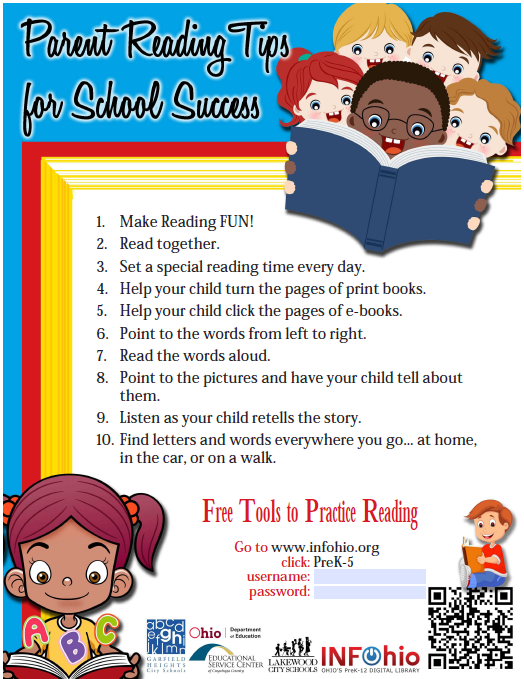 Parent Reading Tips
