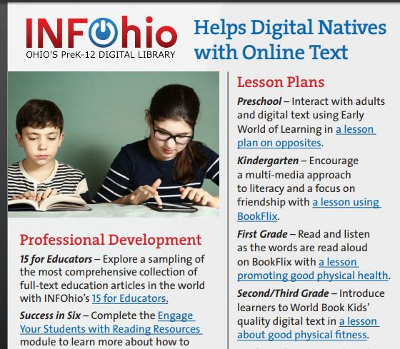 Reading on the Screen: Why Supporting Digital Natives Matters!