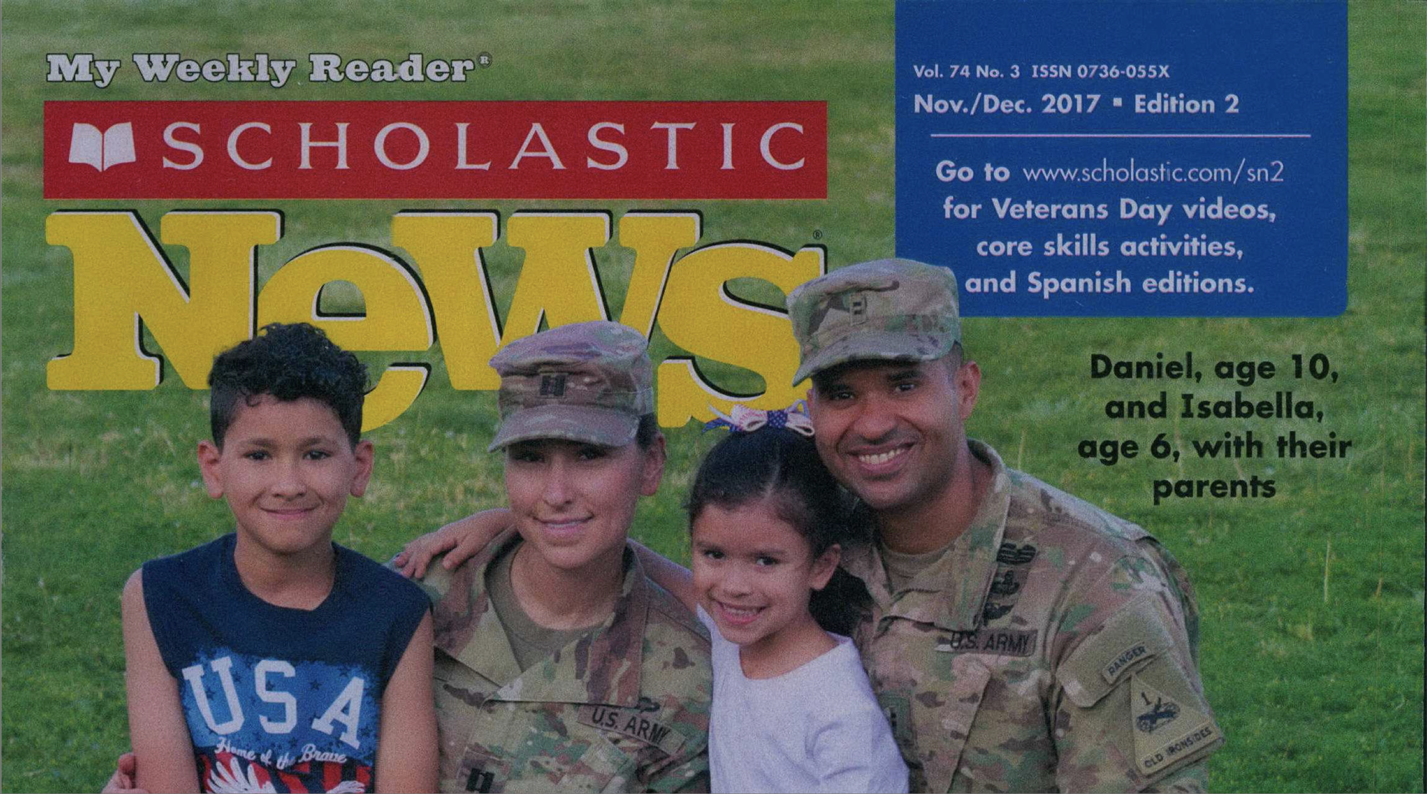 Two Steps to Stepping Up Your Veterans Day Instructional Materials