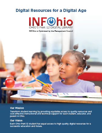 Teach & Learn with INFOhio: Digital Resources for a Digital Age (tri-fold)