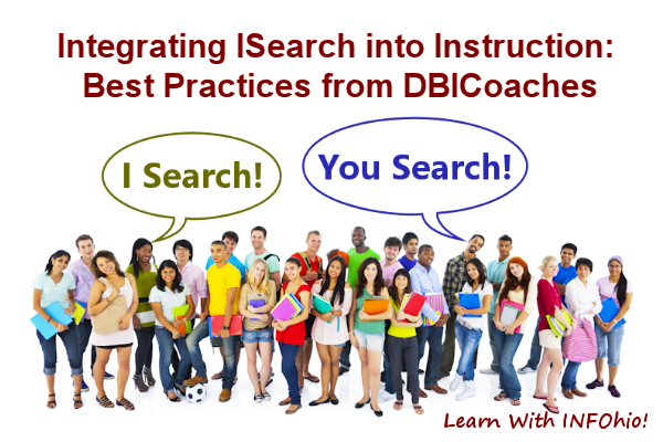 Integrating ISearch into Instruction: Best Practices from DBICoaches