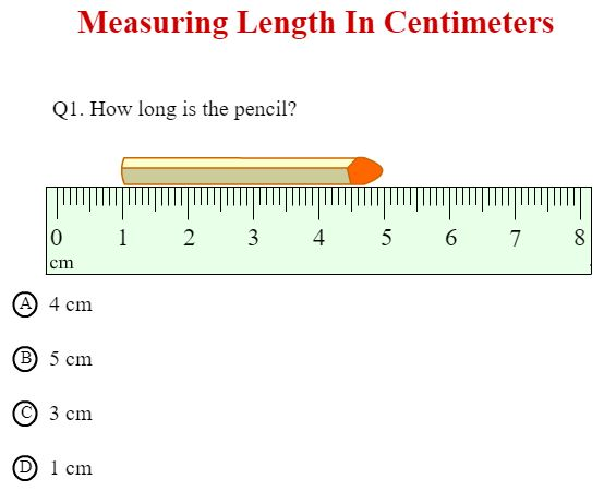 Measuring Length in Centimeters