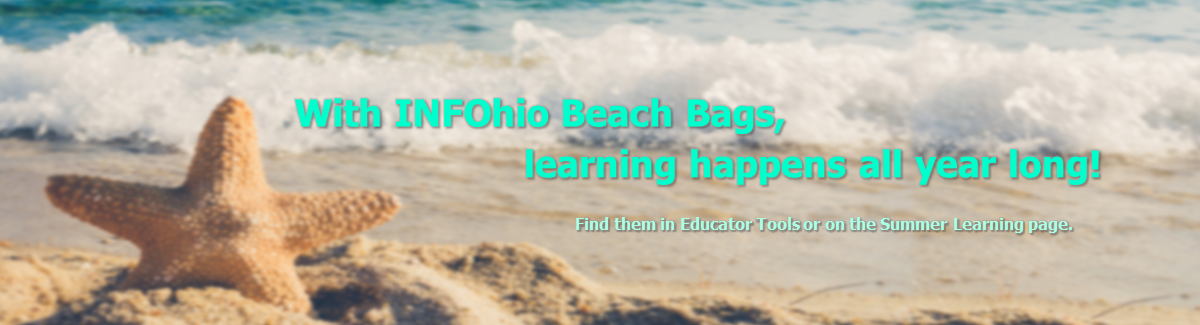 Summer Fun with INFOhio Beach Bags and Camp INFOhio!