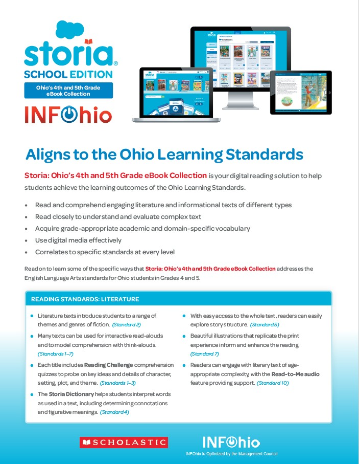 Storia and Ohio Learning Standards